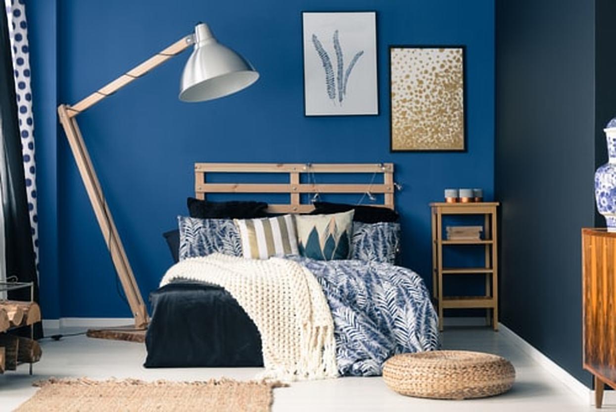 kleurige slaapkamer