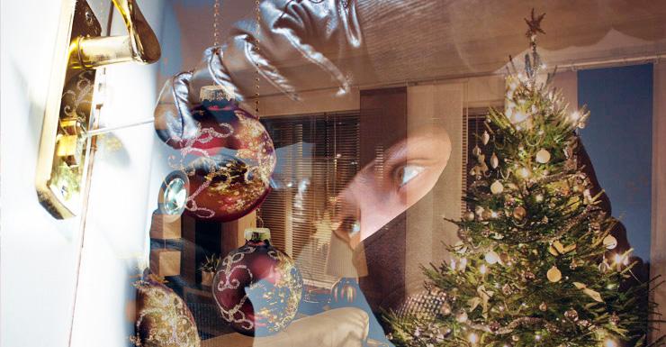 inbreker kerst