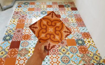 DIY TEGEL PATCHWORK