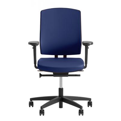 ergonomische bureaustoel blauw