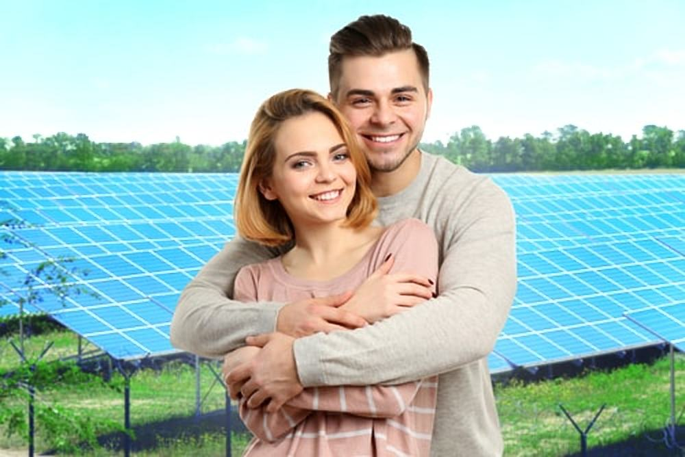 zonnepanelen mensen