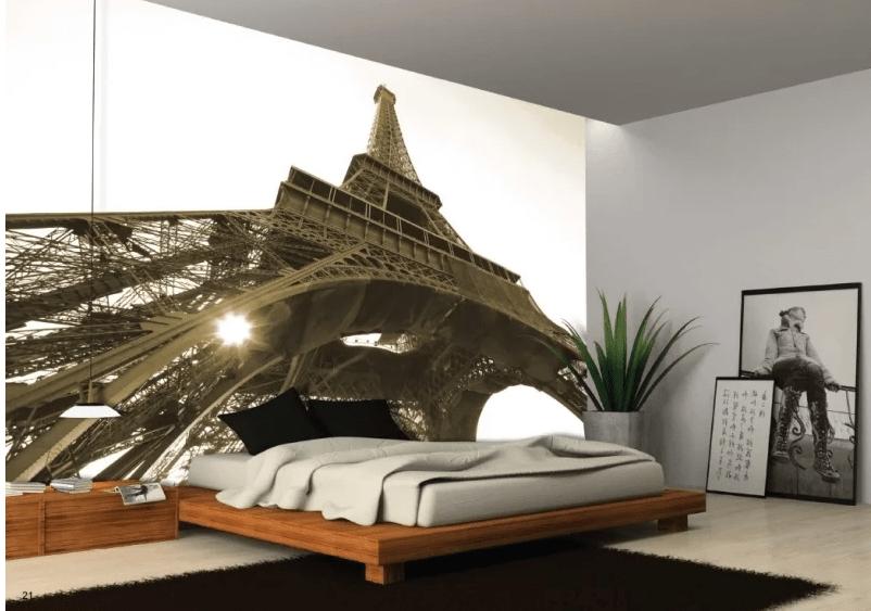 fotobehang slaapkamer