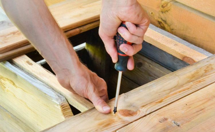 Eerste hulp bij het maken van meubels