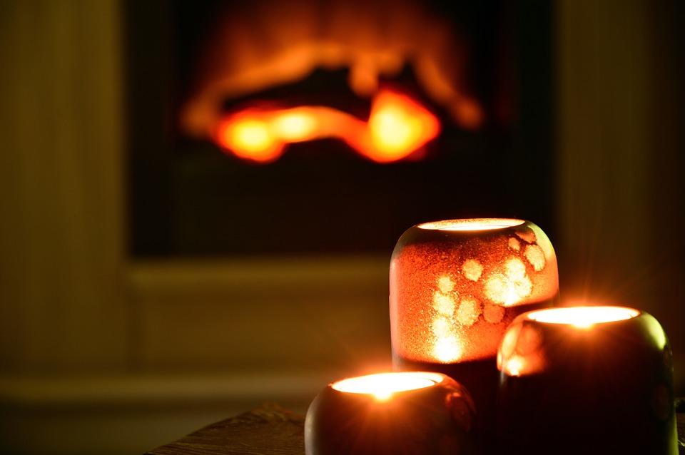 Rustgevende geuren en kaarsen