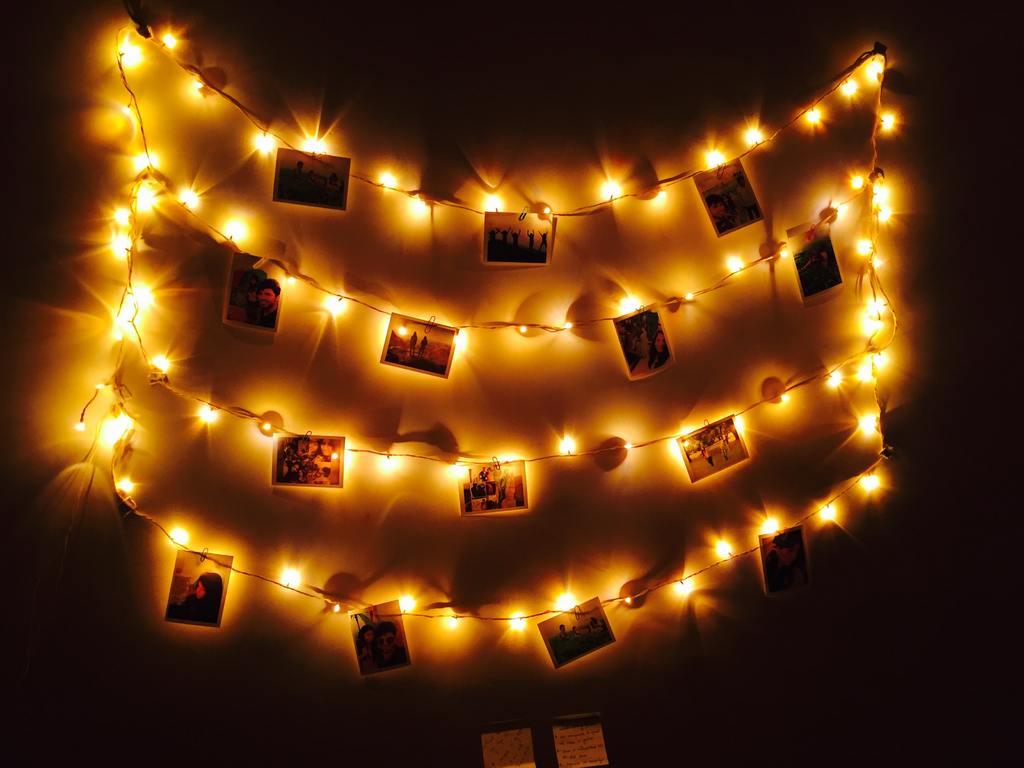 kerstboomsnoer polaroids