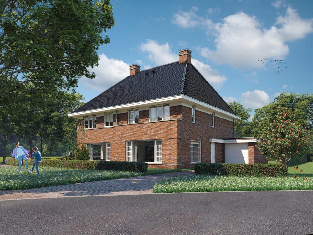 nieuwbouwhuizen in Haren