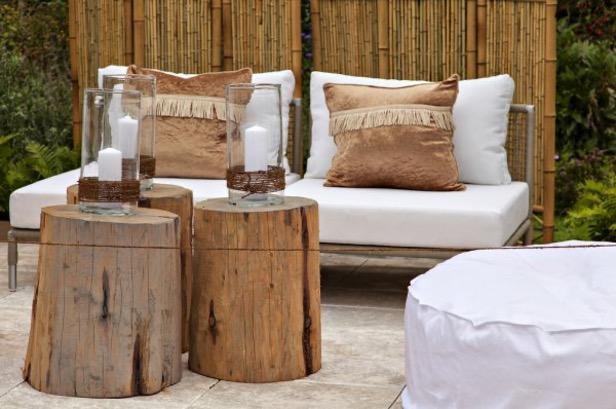 aardetinten loungeset