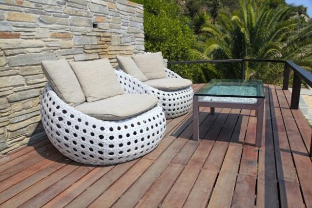 ronde vormen loungeset
