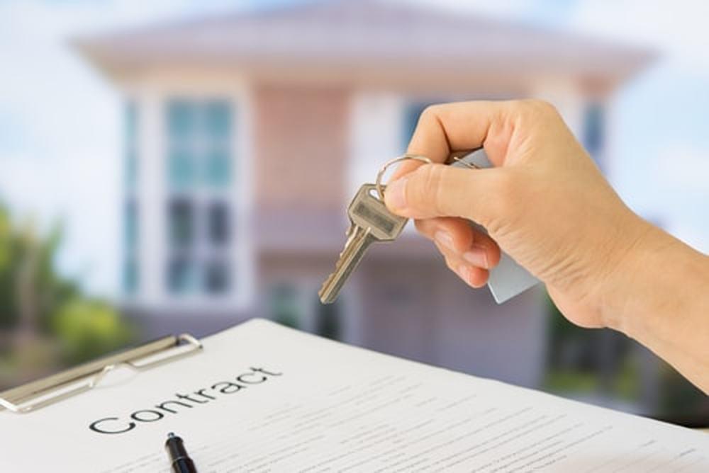 onderteken en contract huis