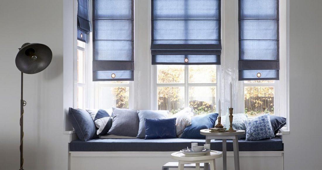 goede raamdecoratie in huis